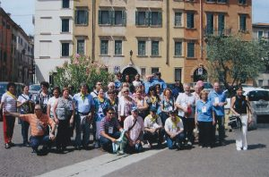 Stigmatine laity participants at the 1st International Conferences of the Stigmatine Laity in Verona, 2010
